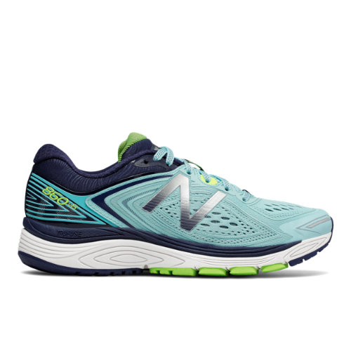 New Balance 860v8 Women's Distance Shoes - Blue / Navy / Green (W860BN8)