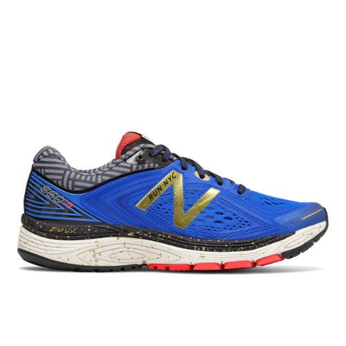 New Balance 860v8 NYC Marathon Women's Distance Shoes - Blue / Gold (W860NY8)