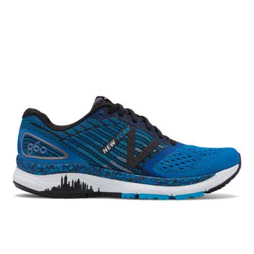 New Balance 860v9 NYC Marathon Women's Stability Running Shoes - Blue (W860NY9)