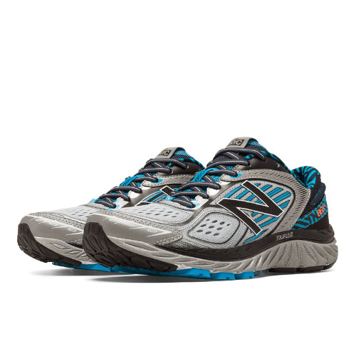 New Balance 860v7 NYC Women's Distance Shoes - Black / Silver / Blue (W860NYC7)