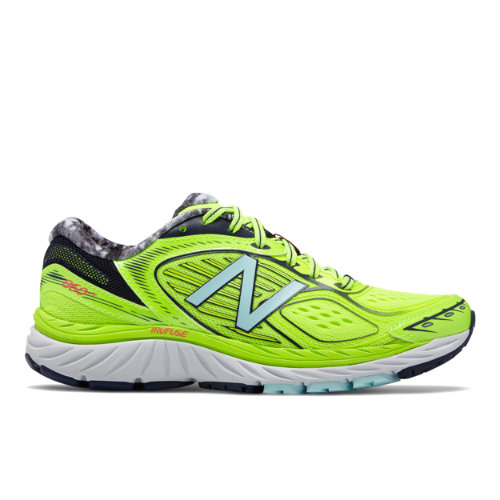 New Balance 860v7 Women's Distance Shoes - Green / Navy (W860YB7)