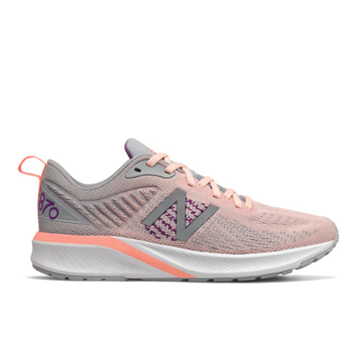 New Balance 870v5 Women's Stability Running Shoes - Pink (W870PC5)
