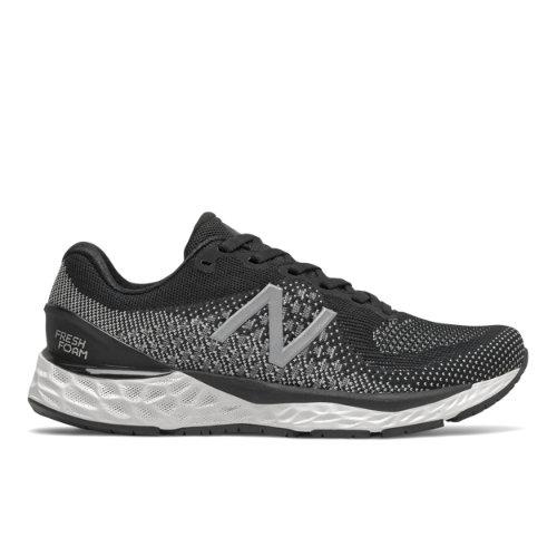 New Balance Fresh Foam 880v10 Women's Running Shoes - Black / White (W880K10)