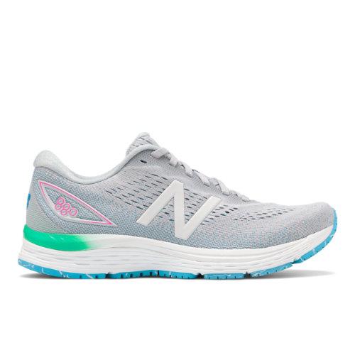 New Balance 880v9 Women's Running Shoes - Light Grey (W880PP9)