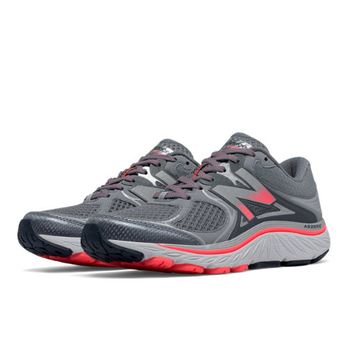 New Balance 940v3 Women's Distance Shoes - Silver / Pink / Grey (W940GP3)
