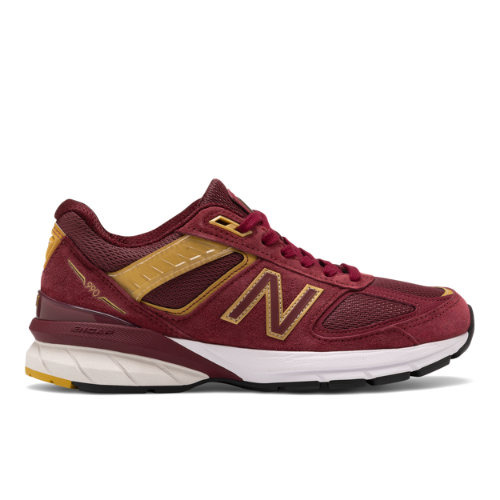 New Balance Made in USA 990v5 Women's Running Shoes - Red (W990BG5)