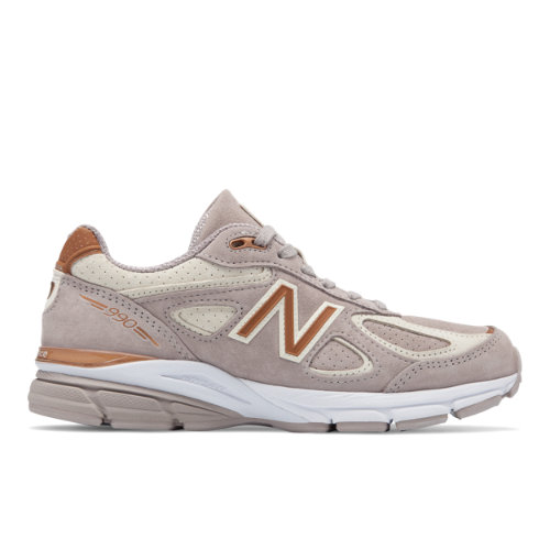 New Balance 990v4 Made in USA Women's Shoes - Off White (W990FA4)