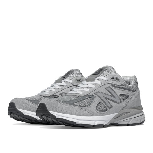 New Balance 990v4 Made in USA Women's Shoes - Grey, Castlerock (W990GL4)