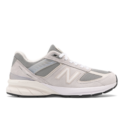 New Balance Made in USA 990v5 Women's Lifestyle Shoes - Grey / Silver (W990NA5)