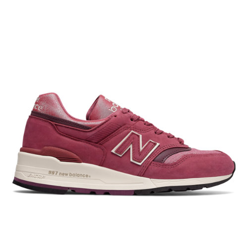New Balance Made in US 997 The Retrospective Woman Women's Made in USA Shoes - Red (W997ER)