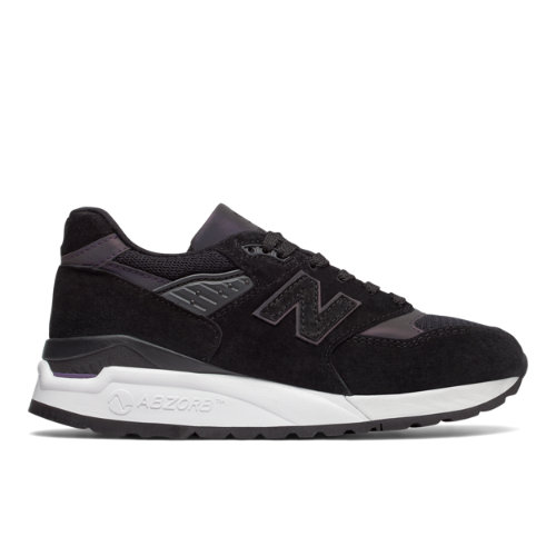 New Balance 998 Northern Lights Women's Made in USA Sneakers Shoes - Black / White (W998CG)