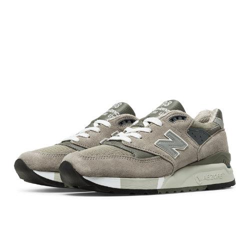 New Balance 998 Women's Shoes - Grey (W998G)