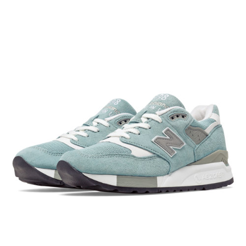 New Balance 998 New Balance Women's Running Classics Shoes - Light Blue (W998LL)