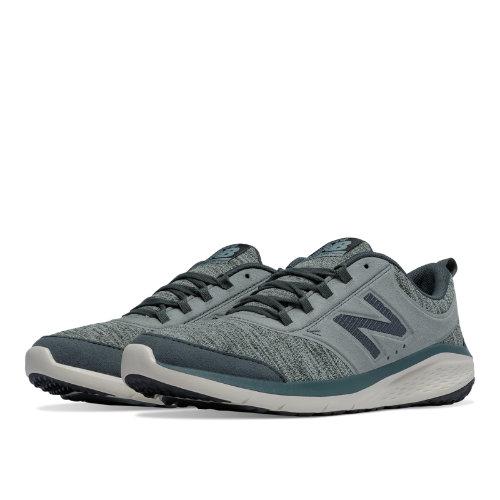New Balance 85 Women's Fitness Walking Shoes - Grey / Moss Green (WA85GR1)