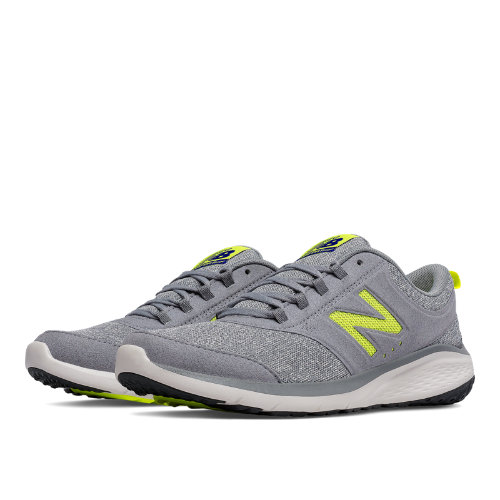 New Balance 85 Women's Shoes - Grey / Yellow (WA85GY1)