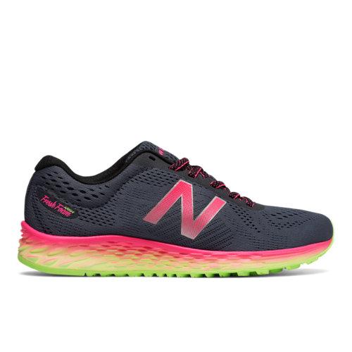 New Balance Fresh Foam Arishi Women's Soft and Cushioned Shoes - Grey / Pink (WARISLT1)
