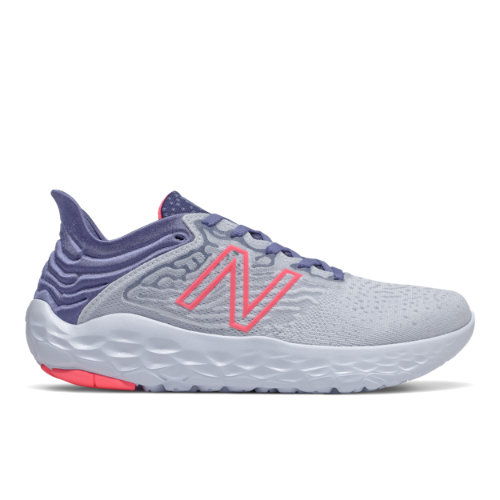 New Balance Fresh Foam Beacon v3 Women's Running Shoes - Grey / Blue (WBECNBG3)