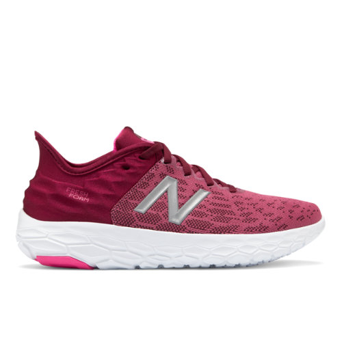 New Balance Fresh Foam Beacon v2 Women's Running Shoes - Red (WBECNDF2)