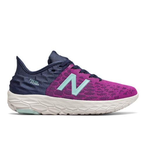 New Balance Fresh Foam Beacon v2 Women's Running Shoes - Purple / Navy (WBECNVB2)