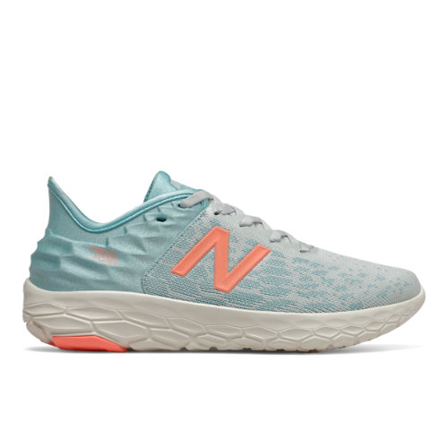 New Balance Fresh Foam Beacon v2 Women's Running Shoes - Grey / Blue (WBECNWP2)