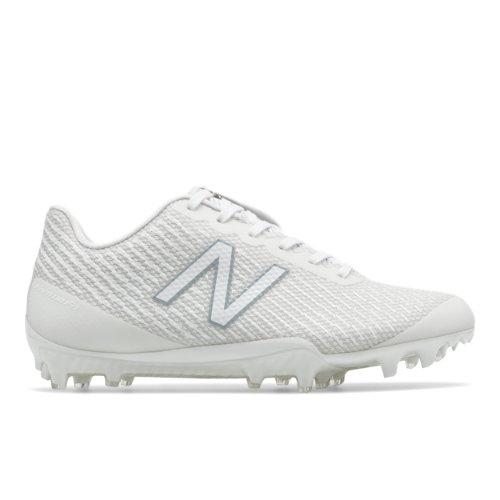 New Balance Burn X Low-Cut Cleat Women's Lacrosse Shoes - White (WBURNXLW)