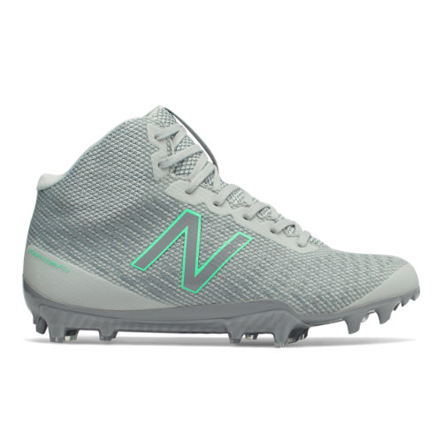 New Balance Burn X Mid-Cut Women's Lacrosse Shoes - Grey (WBURNXMC)