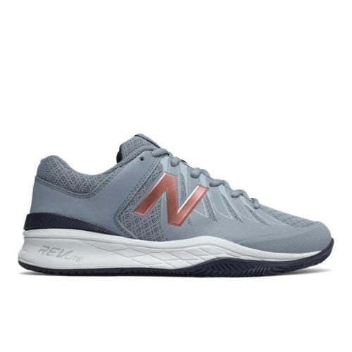 New Balance 1006 Women's Tennis Shoes - Grey (WC1006RG)