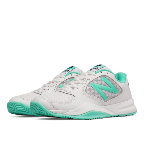 New Balance 696v2 Women's Shoes - Teal / White (WC696TW2)