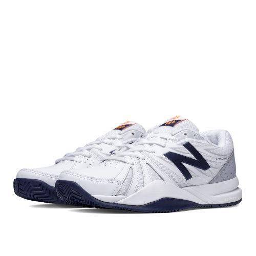 New Balance 786v2 Women's Tennis Shoes - White, Blue (WC786WN2)