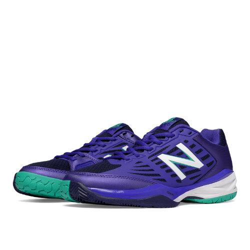 New Balance 896 Women's Tennis Shoes - Purple / Teal (WC896PT1)