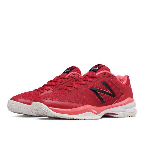 New Balance 896 Women's Shoes - Bright Cherry / Guava / White (WC896RC)