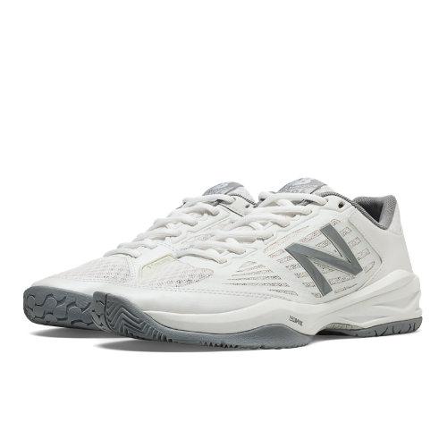 New Balance 896 Women's Tennis Shoes - White, Silver (WC896WB1)