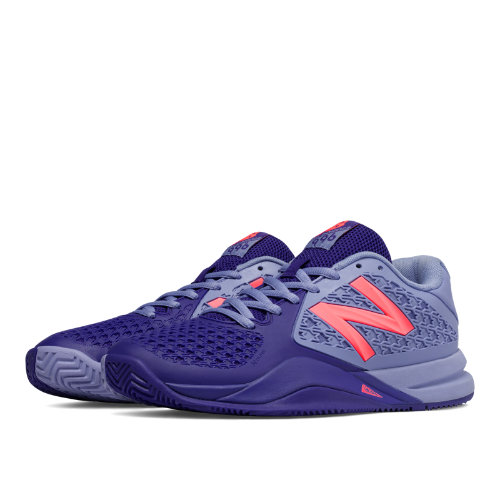 New Balance 996v2 Women's Shoes - Spectral / Guava (WC996SB2)