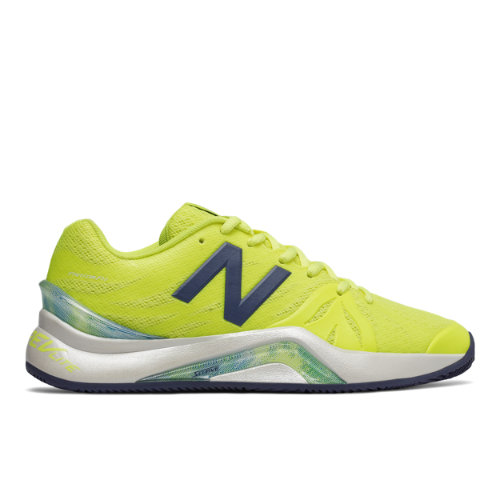 New Balance 1296v2 Women's Tennis Shoes - Yellow / Grey (WCH1296Y)
