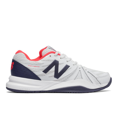 New Balance 786v2 Women's Tennis Shoes - White / Black (WCH786C2)