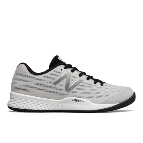 New Balance 896v2 Women's Tennis Shoes - White / Pigment (WCH896W2)