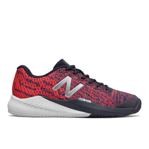 New Balance 996v3 Women's Tennis Shoes - Pigment / Red (WCH996Y3)