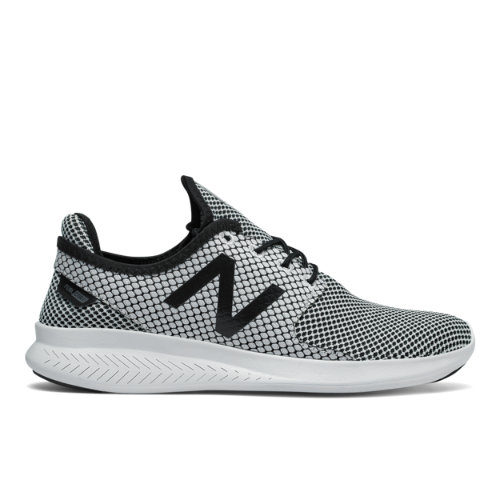 New Balance FuelCore Coast v3 Women's Speed Running Shoes - Black / White (WCOASL3H)
