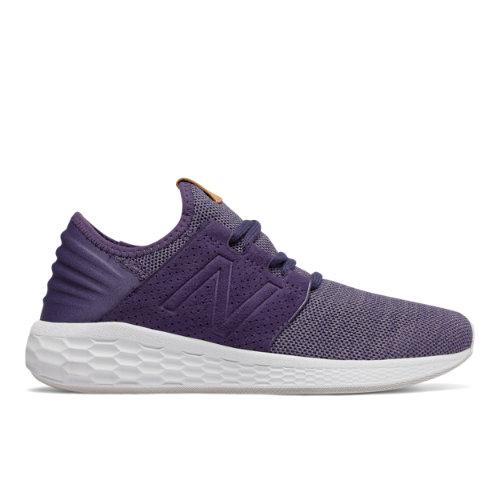 New Balance Fresh Foam Cruz v2 Knit Women's Neutral Cushioned Shoes - Purple (WCRUZKW2)