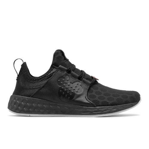 New Balance Fresh Foam Cruz Disney Women's Neutral Cushioned Shoes - Black (WCRUZMM)