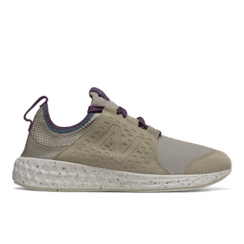 New Balance Fresh Foam Cruz Protect Pack Women's Soft and Cushioned Shoes - Grey / Beige (WCRUZN)
