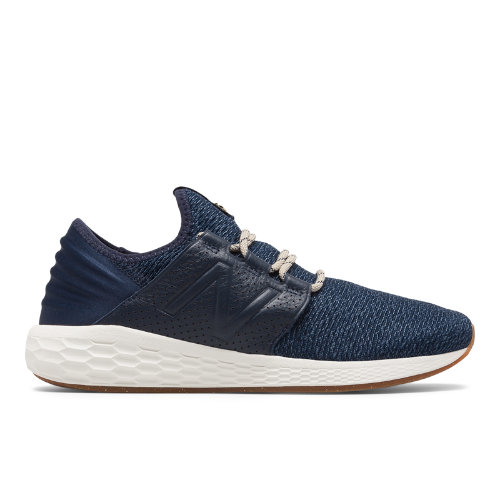 New Balance Fresh Foam Cruz v2 Brooklyn Half Women's Neutral Cushioned Shoes - Navy / White (WCRUZNY2)
