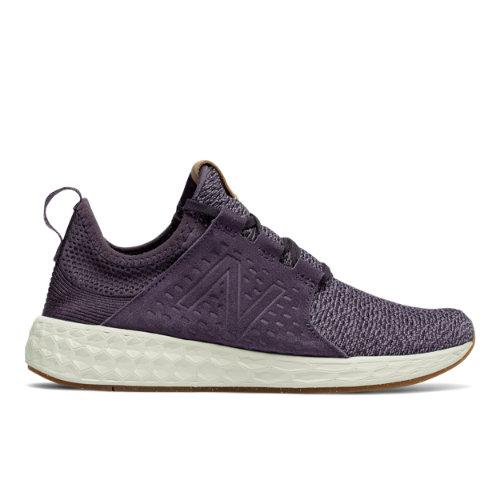 New Balance Fresh Foam Cruz Women's Soft and Cushioned Running Shoes - Purple / Grey (WCRUZOE)