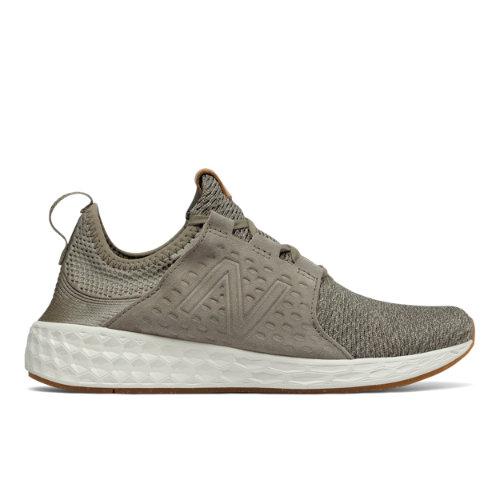 New Balance Fresh Foam Cruz Women's Soft and Cushioned Running Shoes - Military Grey (WCRUZOO)
