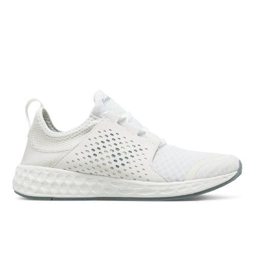 New Balance Fresh Foam Cruz Women's Soft and Cushioned Running Shoes - White / Pink (WCRUZWT)