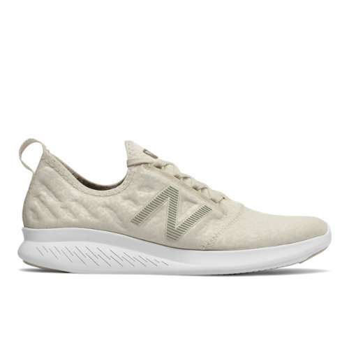 New Balance FuelCore Coast v4 Camo Women's Neutral Cushioned Shoes - Off White (WCSTLRM4)