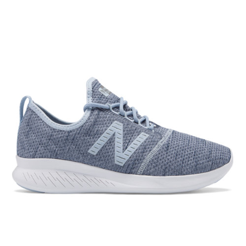 New Balance FuelCore Coast v4 Hoodie Women's Neutral Cushioned Shoes - Light Blue (WCSTLRR4)