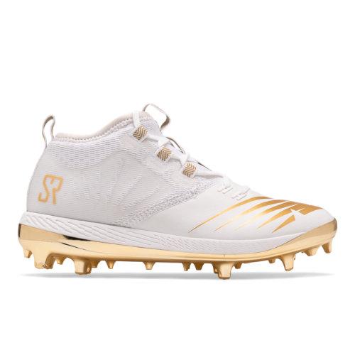 New Balance The Romero Women's Softball Shoes - White / Gold (WCYPHWG1)