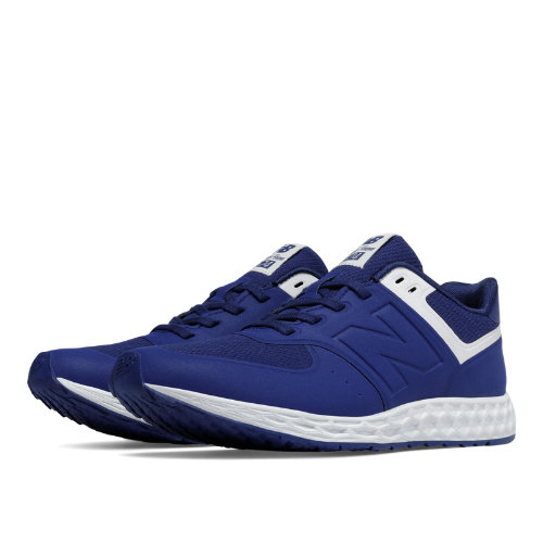 New Balance 574 Fresh Foam Women's Shoes - Basin / White (WFL574BW)