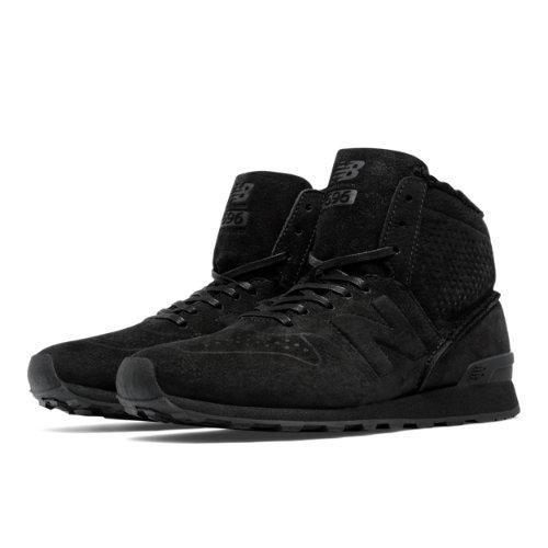 New Balance 696 Mid-Cut Women's Outdoor Classics Shoes - Black (WH696DE)